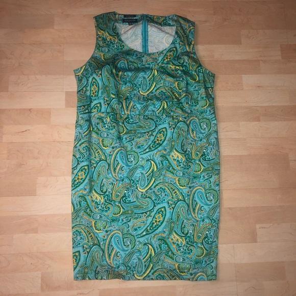 Jones NY paisley dress